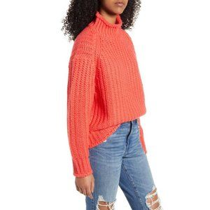 MINKPINK Stevie High Neck Knit Sweater
